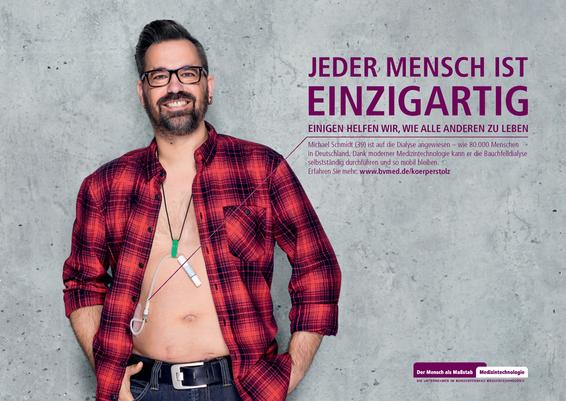 BVMed Kampagne Körperstolz