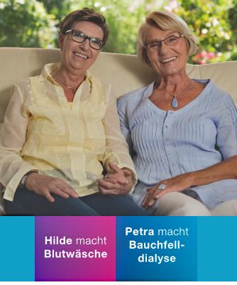 Patientenbericht Hilde & Petra - HD und PD Patientin
